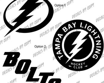 T&a Bay Lightning Logos Designs Car Decal NHL Hockey Sizes In Description  sc 1 st  Etsy & Tampa bay lightning decal | Etsy azcodes.com