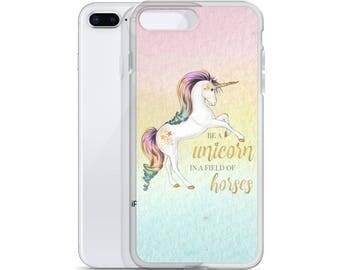 Rainbow Unicorn iphone Case, iphone 7 Case, Unicorn Phone Case, iphone 6 Case, iphone Case, Phone Case, Unicorn iphone Case, iphone 8 Case