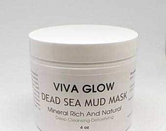 Dead Sea Purifying Mud Mask for face, acne, oily skin and anti-aging|Remove impurities| Minimize pore|Natural and Organic|fragrance free