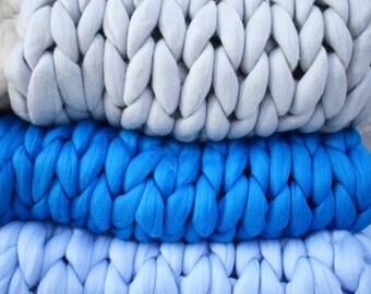 Coperta di lana etsy for Divano gigante