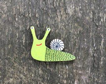 "Badge ""Green Snail"""
