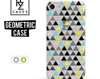 iPhone 7 Case, Geometric Case, iPhone 6 Case, Geometric, iPhone 7 Plus Case, iPhone 6 plus, Samsung Galaxy, Samsung Case, iPhone 7 Clear