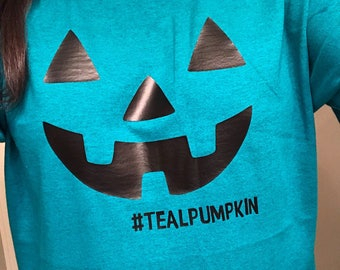 Teal Pumpkin Project FPIES Food Protein Induced Enterocolitis Syndrome Adult Shirt