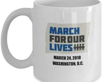 March For Our Lives mug