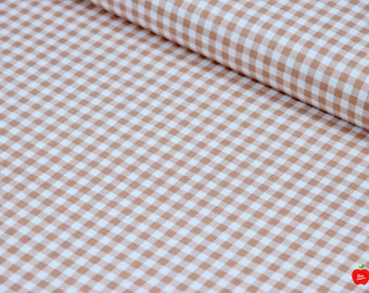 Gingham Fabric, Fabric by the Yard, 100% Cotton Fabric, Plaid Cotton Fabric, Apparel Fabric, Quilting Material, Riley Blake Fabric, Fabric