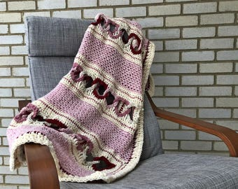 With All My Heart Throw Afghan