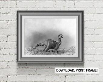 Baby Dinosaur, Dinosaur print, Dinosaur poster, Dino print,Room Decoratio,Baby room decor,toddler room decor, Dino art,Apatosaurus