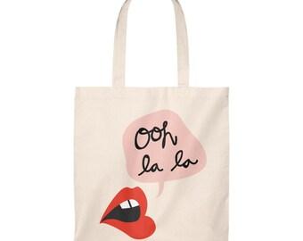 Kisses Tote  Bag  Vintage