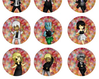 Libra Party Pins