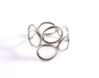 Button Loops Ring