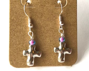 Cross Earrings - Easter Earrings