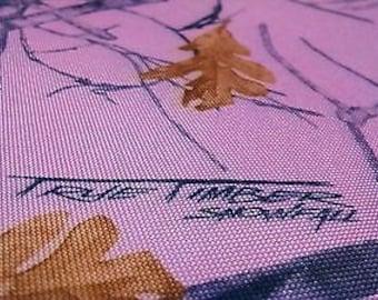 "1000D Coated Waterproof Cordura Hunting 60"" Wide Camo Fabric True Timber Snowfall Pink"