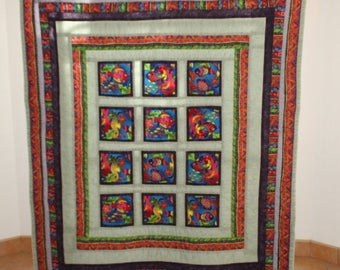 Baby Quilt Tropical  Fish Reef
