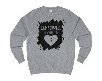 Camberwell Is Where The Heart Is T-Shirts/Hoodies/Sweaters
