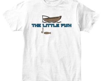 Little fish boys tee