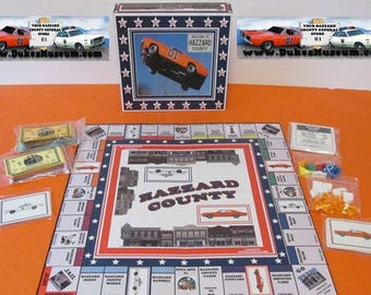 Dukes of Hazzard -    Hazzard County Monopoly Game