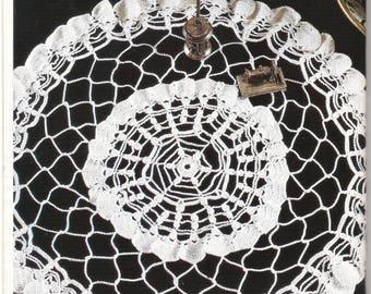 Crochet Pattern, Crochet Doily Pattern, Crochet Diagram, Instant Download, Vintage pattern