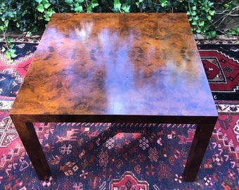 Rare Special Order Milo Baughman for Directional Mid Century Modern Custom Collection Game Table