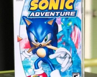 Sonic Adventure Sega Dreamcast Reproduction Disc in Case