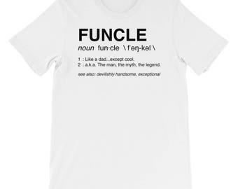 Funcle Short-Sleeve Mens T-Shirt