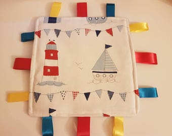 Nautical themed taggy