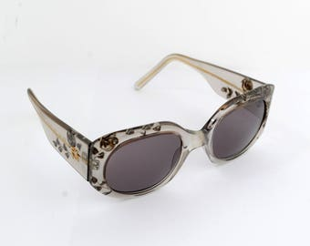 Emmanuelle Khanh EK 151 Rose Garden Hand Made Sunglasses