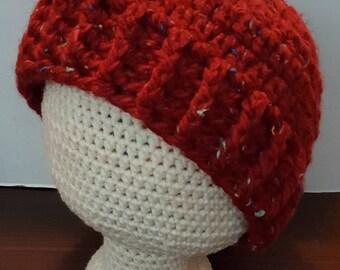Claret Tweed Hat