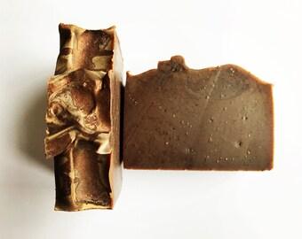 Turkish Mocha Soap, coffee soap, exfoliating soap, chocolate soap, vegan soap, bar soap, gift soap, bath and body, handmade soap