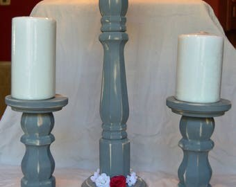 Pillar Candle Holders (Set of 3)