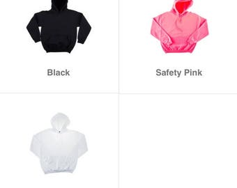Personalized Adult Hoodies