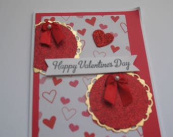 Sale - Glittery Valentine's Day Card
