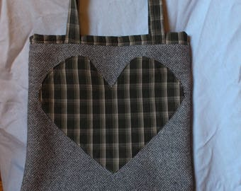 Tweed Tote Bag