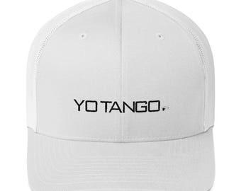 Yo Tango Trucker Cap | Ballroom Dance Gifts, Tango Gift, Tango Trucker Hat | Swing Swag Dancer Gifts