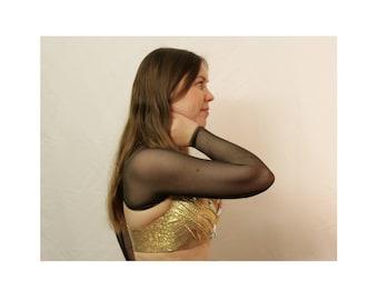 Brown Bolero Belly Dance