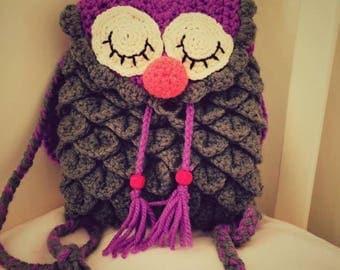Crochet  Backbag