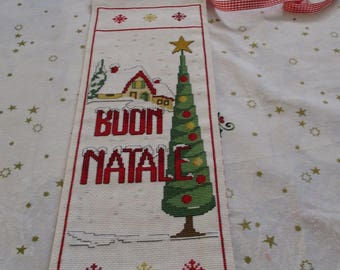 """Christmas decoration to hang """"Merry Christmas-Tree-house * * * discounted!! ***"""
