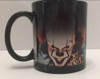 Pennywise color changing 11oz mug