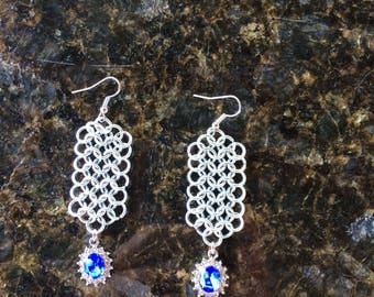 Chainmail earrings Chainmail Jewelry