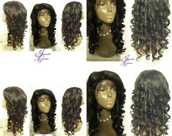 Lace front Wig very well constructed and top quality