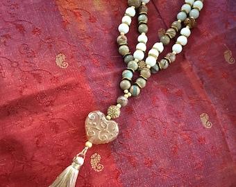 Desert sand necklace