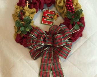 Character Christmas Wreath