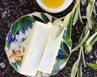 Salt & honey Olive Oil Soap