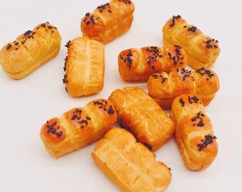 5 pieces Miniature Bread, Miniature Bakery