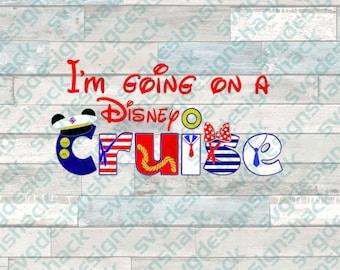 Disney Cruise SVG, DXF, EPS, Studio 3, Png