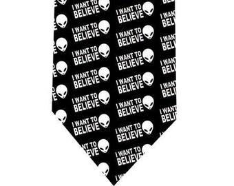 I want to believe Tie - UFO