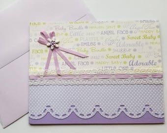 Baby Card -- Too Adorable!