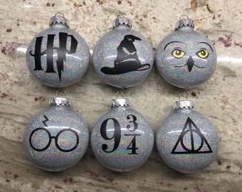 Harry Potter Inspired Ornaments