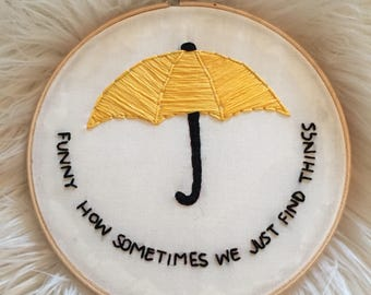 HIMYM Yellow Umbrella