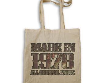 Made New Original Parts 1978 Tote bag r991r