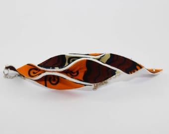 Ankara Necklace - Handmade